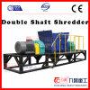 Double Shaft Shredder Tire Plastic Machine Glass