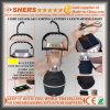 5 SMD LEDの太陽キャンプのランタン4 LEDの警報灯USBのアウトレット