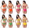 Swimwear sexy da forma das meninas das mulheres
