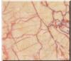 Rote künstliche Marmorpoliersahnefliese für Wand und Fußboden