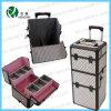 Schönheits-Laufkatze-Verfassung PVC, das kosmetischen Fall (HX-P2607, rollt)