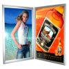 As placas de indicador claras do diodo emissor de luz, frame de alumínio do poster, moldam a caixa leve