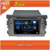 navegador del GPS de la navegación del coche DVD GPS del foco 7inch para Ford