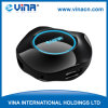 Mini USB 2.0 HUB 4 puertos con pintura UV con LED para Logo (cubo-218)