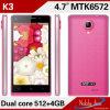 Núcleo Mtk6572 de Smartphone 4.7 Inchdual