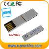 Boomark 또는 종이 클립 (ED005)를 가진 단단한 금속 USB 섬광 드라이브 모형