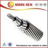 El conductor de aluminio reforzado de acero, conductores ACSR