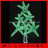 신식 크리스마스 나무 모양 밧줄 주제 빛