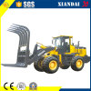 Suger Cane Clamp Grass Grab를 가진 Xd935g 3ton Grass Loader
