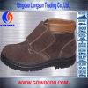 最も新しいデザインスエードの革中間の切口の安全靴(GWRU-3007)
