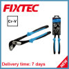 Fixtec 10  CRV 손은 기계설비 다중 기능적인 수도 펌프 플라이어 절단 도구를 도구로 만든다