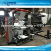 Máquina de impressão flexográfica de filme plástico
