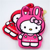 Hello Kitty Cat Shape Cute 3D Silicon Phone Case