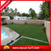 césped sintetizado artificial de la hierba del jardín del PE de 25m m para el campo del jardín