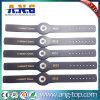 Wristband del braccialetto del silicone di 13.56MHz RFID per il parco di divertimenti