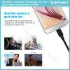 Câble usb neuf de caractéristiques d'arrivée pour le chargeur de Samsung