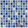 Los productos calientes de la venta esmaltaron el mosaico azul de la porcelana para la piscina