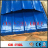 Folha Matel do fornecedor de China que telha o preço galvanizado corrugado da chapa de aço, folha ondulada do soldado PPGI
