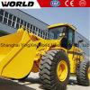 5ton VoorLader met 4 wielen van China van de Aandrijving de Hydraulische