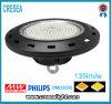 Prezzo elevato di illuminazione della baia del magazzino LED, alto indicatore luminoso industriale della baia di 150W LED