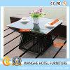 Ротанга сада мебели гостиницы комплект таблицы штанги напольного Wicker