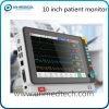 Горячий -10.4 шесть параметров монитора пациента с задней стойки
