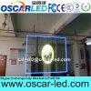 高い明るさ店のための屋内透過ガラスLEDの広告の表示画面