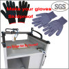 熱い溶解の接着剤付着力ディスペンサー機械が付いている反スリップの手袋作業手袋機械