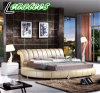 Una cama redonda571 Diseño de Muebles de dormitorio cama King Size