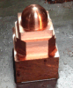 Cnc-Messingzeichen-Gravierfräsmaschine mit hohe Präzisions-Übertragung