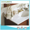 Parte superiore bianca pura di vanità della stanza da bagno della nuova di disegno 2016 stanza da bagno di Calacatta