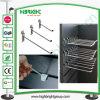 Countertop-Draht-MetallPegborad Bildschirmanzeige-Haken