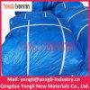 Encerado azul personalizado do PE 7mil da venda por atacado do tamanho