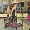 Trampolino di forma fisica della sosta del trampolino con la maniglia della barra di T