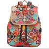 良質の革製バッグの十代の革バックパックの製品(EMG4238)