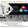 Lâmpada esperta da economia de energia do diodo emissor de luz de WiFi PAR30 RGBW