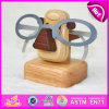 2015 Home Decoration Animal Eyeglass Holders, Wooden Crafts Animal Style Eyeglass Holder, Christmas Eyeglass Holder Toy W02A091