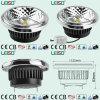 2300k CRI 80/Ra90 Diseño del reflector LED Spotlight Qr111 G53