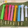 Parasol de papel colorido para la decoración del banquete de boda
