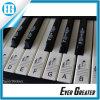 En Blanco y Negro Teclado 88 Conjunto de teclas o pegatinas Piano