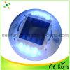 Plastique polycarbonate anti-UV LED clignotante solaire goujon de route