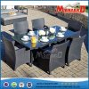 Tabelas e jardim Dining Set Outdoor Dining Set de Chairs