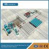 自動AACの工場生産ライン
