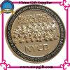 Pièce de monnaie d'enjeu de qualité avec le logo du propriétaire 3D