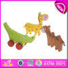 Zoo en bois Animal Set Play Toy pour Kids, Wooden Toy Animal Toy pour Children, Role Play Toy Wooden Animal Toy pour Baby W05b072