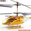 L'hélicoptère de /Mini RC d'hélicoptère de l'hélicoptère 3CH RC en métal RC joue l'hélicoptère