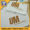 Serviettes de main promotionnelles avec le marquage à chaud de coutume (KT-008)