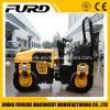 Tambour double de 3 tonnes pour la vente de rouleau d'asphalte (FYL-1200)