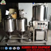 3.0mm Thickness SUS304 Stainless Steel Beer Machine 600L Beer Making Machinery 500L