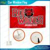 Изготовленный на заказ флаг автомобиля красного волка высокого качества (A-NF08F06025)